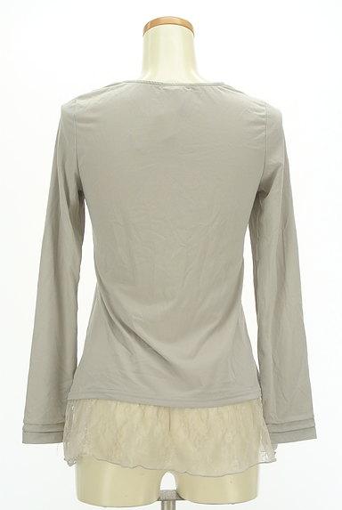 axes femme(アクシーズファム)の古着「裾レースプルオーバー(カットソー・プルオーバー)」大画像2へ