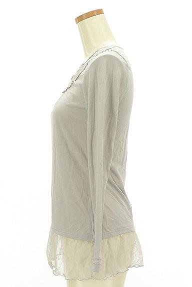 axes femme(アクシーズファム)の古着「裾レースプルオーバー(カットソー・プルオーバー)」大画像3へ