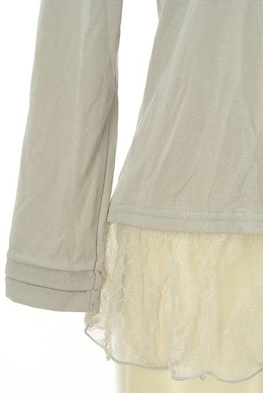 axes femme(アクシーズファム)の古着「裾レースプルオーバー(カットソー・プルオーバー)」大画像5へ