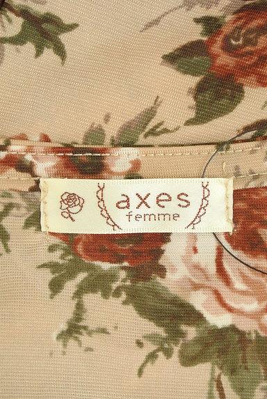 axes femme(アクシーズファム)の古着「花柄フリルレースプルオーバー(カットソー・プルオーバー)」大画像6へ