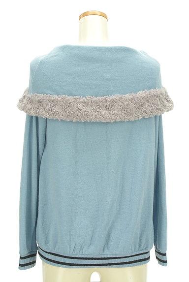 axes femme(アクシーズファム)の古着「ボアライン襟付きプルオーバー(カットソー・プルオーバー)」大画像2へ