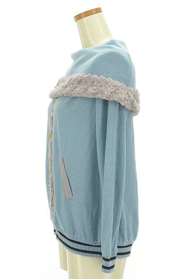 axes femme(アクシーズファム)の古着「ボアライン襟付きプルオーバー(カットソー・プルオーバー)」大画像3へ