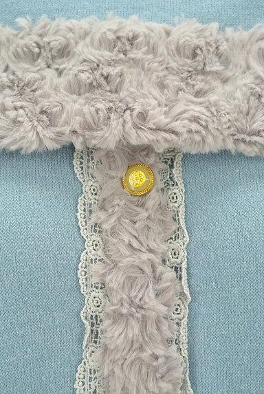 axes femme(アクシーズファム)の古着「ボアライン襟付きプルオーバー(カットソー・プルオーバー)」大画像4へ