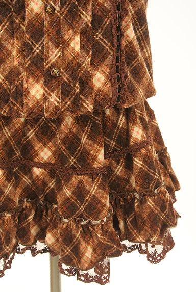 LIZ LISA(リズリサ)の古着「チェック柄キャミチュニック(キャミワンピース)」大画像5へ