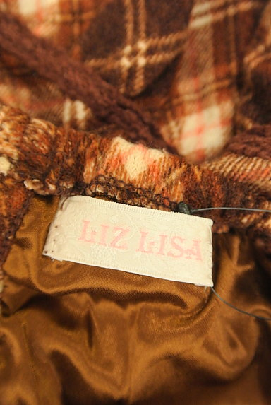 LIZ LISA(リズリサ)の古着「チェック柄キャミチュニック(キャミワンピース)」大画像6へ