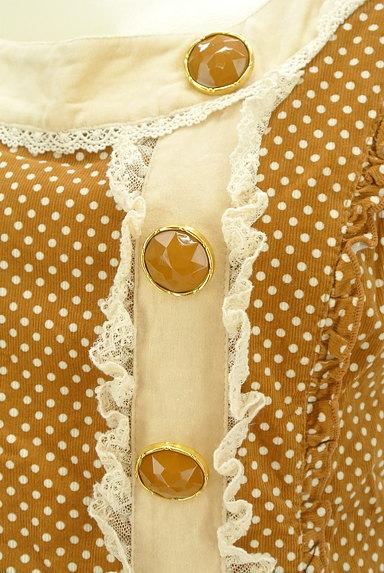 LIZ LISA(リズリサ)の古着「ビッグリボンレトロガーリーワンピ(キャミワンピース)」大画像4へ