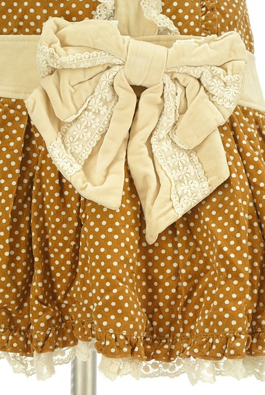 LIZ LISA(リズリサ)の古着「ビッグリボンレトロガーリーワンピ(キャミワンピース)」大画像5へ