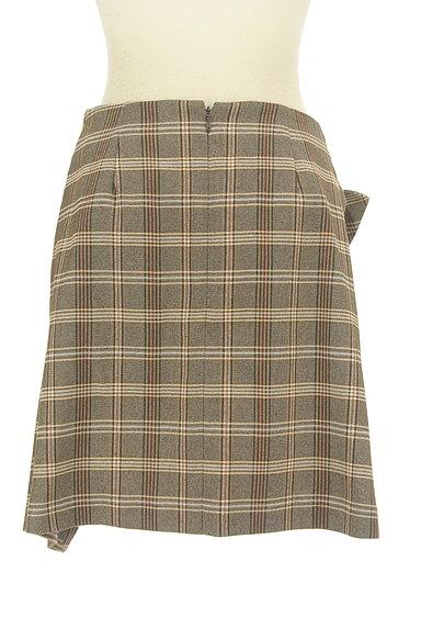 31 Sons de mode(トランテアン ソン ドゥ モード)の古着「リボン付きラップ風起毛ミニスカート(スカート)」大画像2へ