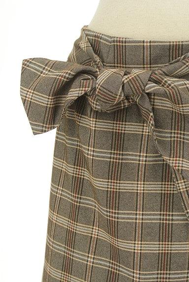 31 Sons de mode(トランテアン ソン ドゥ モード)の古着「リボン付きラップ風起毛ミニスカート(スカート)」大画像4へ