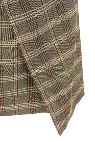 31 Sons de mode(トランテアン ソン ドゥ モード)の古着「リボン付きラップ風起毛ミニスカート(スカート)」大画像5へ