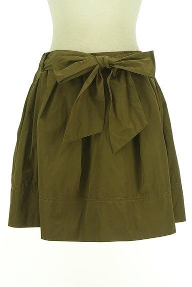 31 Sons de mode(トランテアン ソン ドゥ モード)の古着「ウエストリボンフレアミニスカート(ミニスカート)」大画像1へ