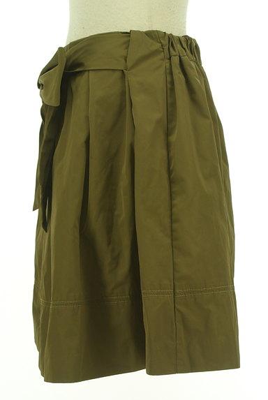 31 Sons de mode(トランテアン ソン ドゥ モード)の古着「ウエストリボンフレアミニスカート(ミニスカート)」大画像3へ
