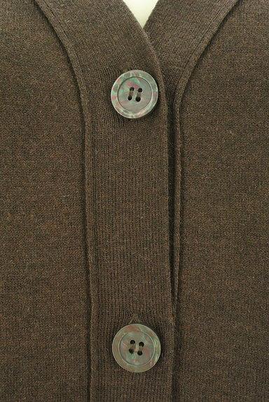 MK MICHEL KLEIN(エムケーミッシェルクラン)の古着「シンプルVネックカーディガン(カーディガン・ボレロ)」大画像4へ